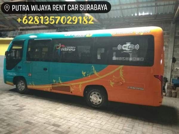 Sewa Elf Long - Elf Coaster Jetbus Jumbo Surabaya Sidoarjo